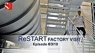 ReSTART: Visita a la fábrica de (03/10) - Sauber F1 Team