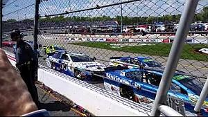 NASCAR Sprint Cup Series - Richmond reinicio de pista