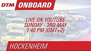 On Board LIVE : Mike Rockenfeller (DTM Hockenheim Course 2)