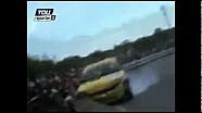 Catania-Etna 2010 - L'incidente che ha ucciso uno spettatore
