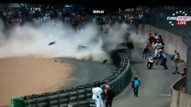 2011 Le Mans 24 Hours - Allan Mcnish Audi Massive Crash