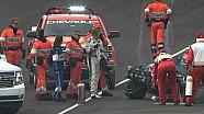 Ed Carpenter sofre acidente em Indy