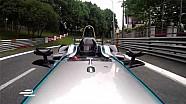 Jérôme d'Ambrosio en Formule E dans les rues de Pau