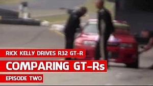 Rick Kelly conduce Nissan R32 GT-R - Ef 2, Comparando GT-R