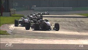 Lance Stroll capota várias vezes - Monza F3 Europe