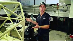Will Davison private tour of Erebus Motorsport workshop