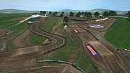 2015 Muddy Creek Motocross animada Mapa de pista