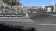 Полёт Энерсона после столкновения с Пике - Indy Lights