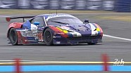 SMP Racing Ferrari won their #LM24 GTE-Am Champion