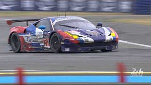 SMP Racing Ferrari won their #LM24 GTE-Am Champion