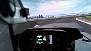 Alonso se filme dans le simulateur McLaren