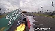 Jos Verstappen Exhaust Flames Onboard Footage Minardi PS03 at Italia a Zandvoort, 28/06/2015