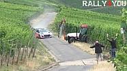 Neuville casi golpea tractor | Prueba Rally de Alemania 2015