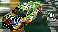 Kyle Busch battles to win Kentucky