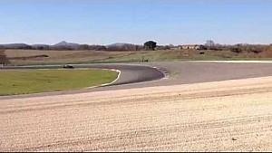 La nuova Renault RS 01 in pista a Vallelunga