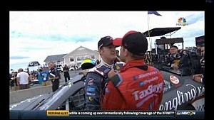 Smith vs Dillon se pelean en Watkins Glen 2015