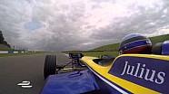 Una vuelta en Donington con Nicolas Prost