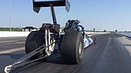 Slo-Mo of Bob Henry Racing Top Dragster