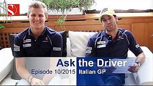 #AskTheDriver - Italia - Capítulo 10/2015 - Sauber F1 Team