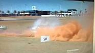 Pedro Piquet sufre un fuerte accidente en la Porsche Cup Brasil