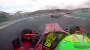Parth Ghorpade's on board lap around wet Spa