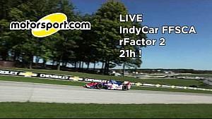 FFSCA IndyCar 2015 Course 1 Road America PARTIE 1