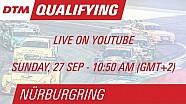 DTM Nürburgring 2015 - Qualifying (Race 2) - Live Stream