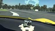 Emerson Fittipaldi pilote sur le nouveau tracé F1 du Mexique à bord d'une Corvette Z06