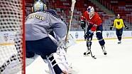 Даниил Квят примерил на себя роль хоккеиста