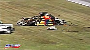 Rusty Wallace crashes in the 1993 Daytona 500
