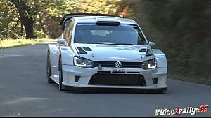 Test VW Polo R WRC 2017