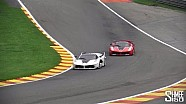 FXX K Flames, 599XX Glowing Brakes, Ferrari at Spa [X6 Tour Episode 19]