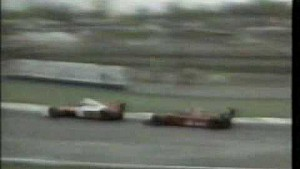 Gran Premio del Messico 1990, Mansell vs Berger, ultimi 4 giri