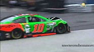 Danica Patrick and David Gilliland crash into each other at Martinsville