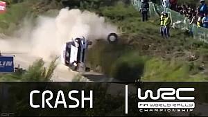 Ралли Португалия 2015. Авария Яри Кетомаа