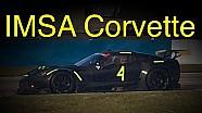 IMSA Corvette GTLM-test op Sebring
