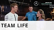 Nico Rosberg v Martin Kaymer: Challenge 3 – The Simulator
