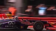 Festival de velocidad de Perth - calentamiento de F1