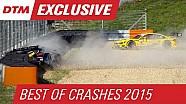 Best of Crashes - DTM Season 2015