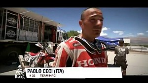 Team HRC Dakar Rally 2016 Stage 9