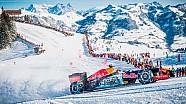 Max Verstappen F1 Snow Demo en la Nieve Red Bull RB7 Hahnenkamm, Kitzbühel, 14/01/2016