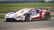 La Ford GT lors du Roar before The 24