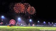 الألعاب النارية في سباق رولاكس 24 ساعة 2016 بحلبة دايتونا