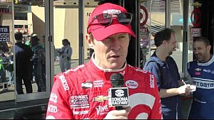 Scott Dixon & Max Chilton After Testing At Sonoma Raceway
