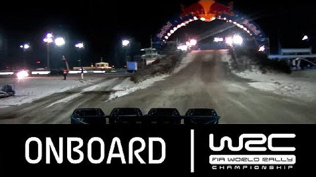 Rally Sweden 2016: ONBOARD Latvala SS17
