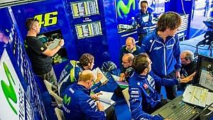 Zeitraffer: Das Yamaha-Werksteam beim MotoGP-Test auf Phillip Island