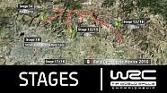Rally Guanajuato México 2016: Las etapas