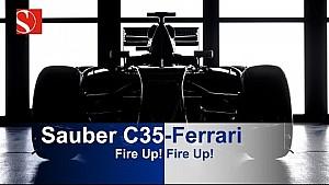 Motorensound: Sauber C35-Ferrari