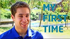 My First Time! w/ Robin Frijns - Formula E