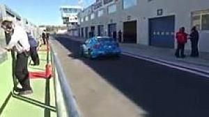 WTCC-Volvo fährt auf die Strecke